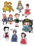 Dolls & Costume Patterns