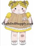 Cloth Doll Vintage Patterns