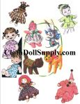 Vintage Sock Doll Patterns