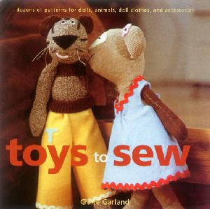 Toys To Sew Book