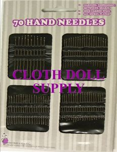 BB Hand Needles 70 Count