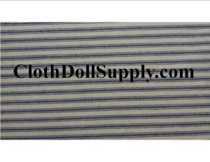 BB Hand Tea-Dyed Ticking Cloth Blue