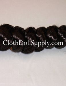 French Curl Dark Brown