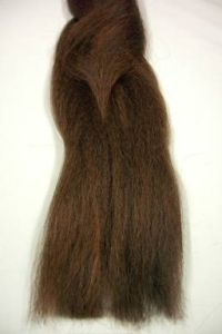 Synth Hair Auburn Brown