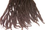 "Synthetic Dreads - 17"" long Dark Brown"