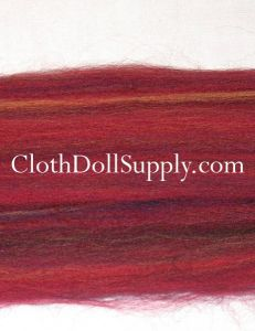 Wool Roving Dyed Mojave