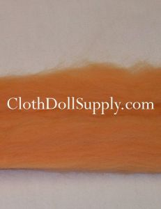 Wool Roving Peach