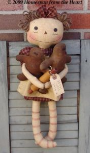 EP CM 170 Primitive Raggedy and Gingerbread