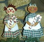 EP MA Tree Toppers Raggedy Ann and Ginger