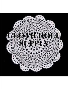 "Crocheted Doilies 18"" Ecru"