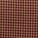 xF HOMESP-1382 Red Small Check Homespun