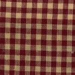 xF HOMESP-1383 Red Medium Check Homespun