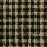 xF HOMESP-1483 Black Medium Check Homespun