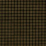 xF HOMESP-500BK Black Gingham Homespun