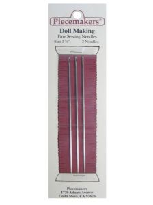 Piecemakers Dollmaking 3 inch Needles