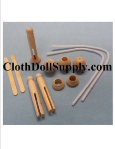 Old Fashioned Clothespin Doll Kit