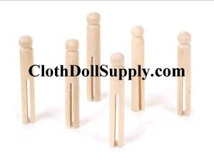 Old Fashioned Clothes Pins