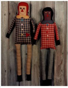 BA 263 My Favorite Rag Dolls Sewing Pattern