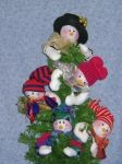 CL 18 Snowman Ornament Pattern