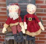 CM 134 Mr. and Mrs. Claus Pattern