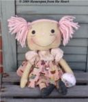 CM 160 Raggedy Ann with Cupcake Pattern