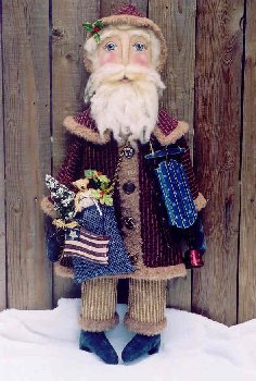 GLHH 171 - Father Christmas Pattern