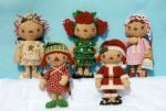 GLHH 312 Christmas Gathering Ornies, The Girls Pattern