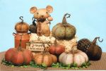 GLHH 319 - Dirty Little Mouse and Prim Pumpkins Pattern