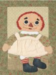 IJ 143P Annie Doll n Greeting Card