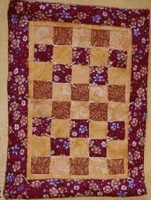 JD 105 Hittys Patchwork Quilt