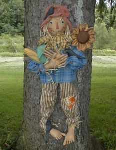 MM 119 Lenny the Scarecrow Pattern