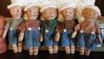 MM 139 Teeny Raggedy dolls Pattern