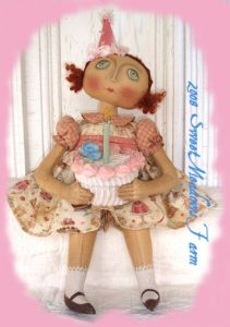 MM 173 Birthday Girl Doll Pattern