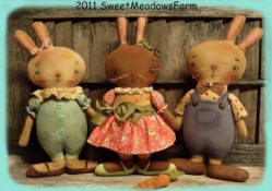 MM 214 Basket Case Bunnies Pattern