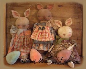 MM 225 Easter Bunny Girls Pattern