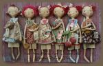 MM 235 A Six Pack of Dolls Pattern