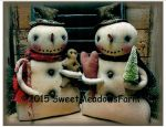 MM 260 Snowman Stumps Pattern