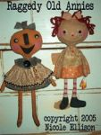 NE 45 Candy Corn Annie Pumpkin Friend Pattern