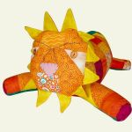 PH 212 Quilt Block Lion Pattern