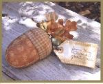 QETC 813 Acorn Pincushion & Needle Case Pattern