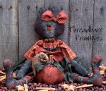 SD 244 Miss Priss & Pumpkin Pattern