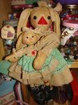SM AC 029 Bunny Cupboard Doll Set Pattern