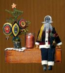 TS 12 Santa & His Pennies Pattern