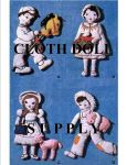 VP 1232 - Four Favorite Nursery Rhyme Dolls Pattern