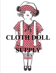 VP 1235 - Betty The Flapper Doll Pattern