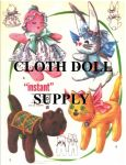 VP 2085 Babe, Bunny, Pup & Kitty Sock Doll Patterns