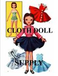 VP 2097 Betsy McCall Rag Doll & Clothes Pattern