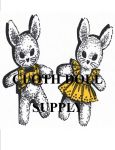 VP 2137 Bunny Twins Pattern