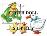 VP 2158 Frog, Duck & Duckling Stuffed Toys Pattern