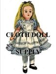VP 2240 Alice In Wonderland Rag Doll Pattern